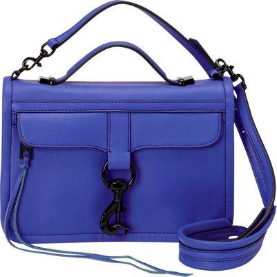 Rebecca Minkoff Bowery Crossbody Ultraviolet - Rebecca Minkoff Designer Handbags