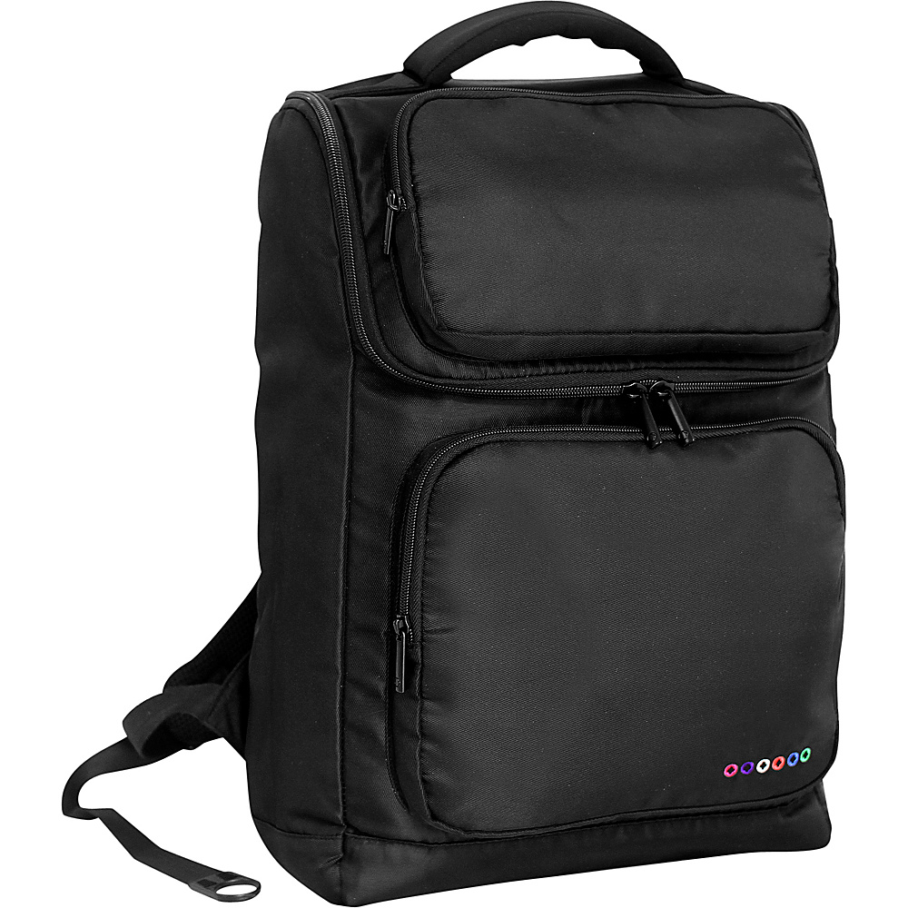 J World New York Elemental Laptop Backpack Black J World New York Business Laptop Backpacks