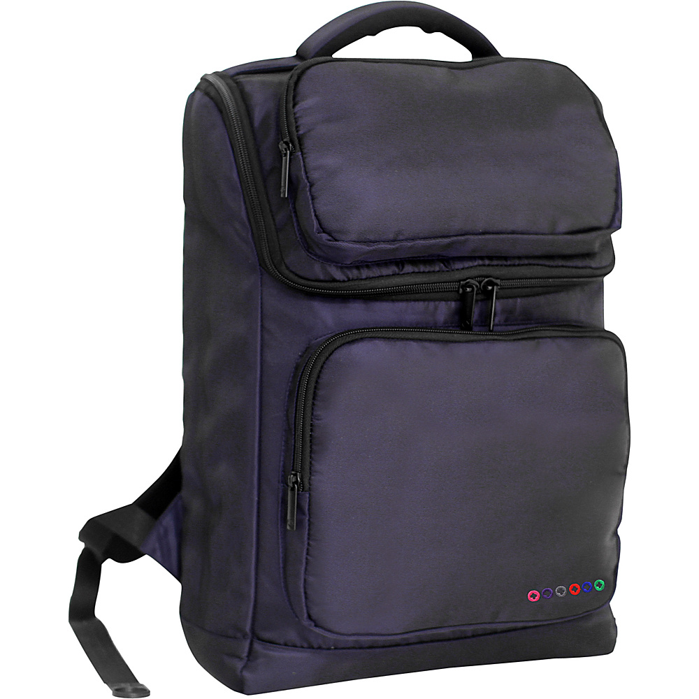 J World New York Elemental Laptop Backpack Navy J World New York Business Laptop Backpacks