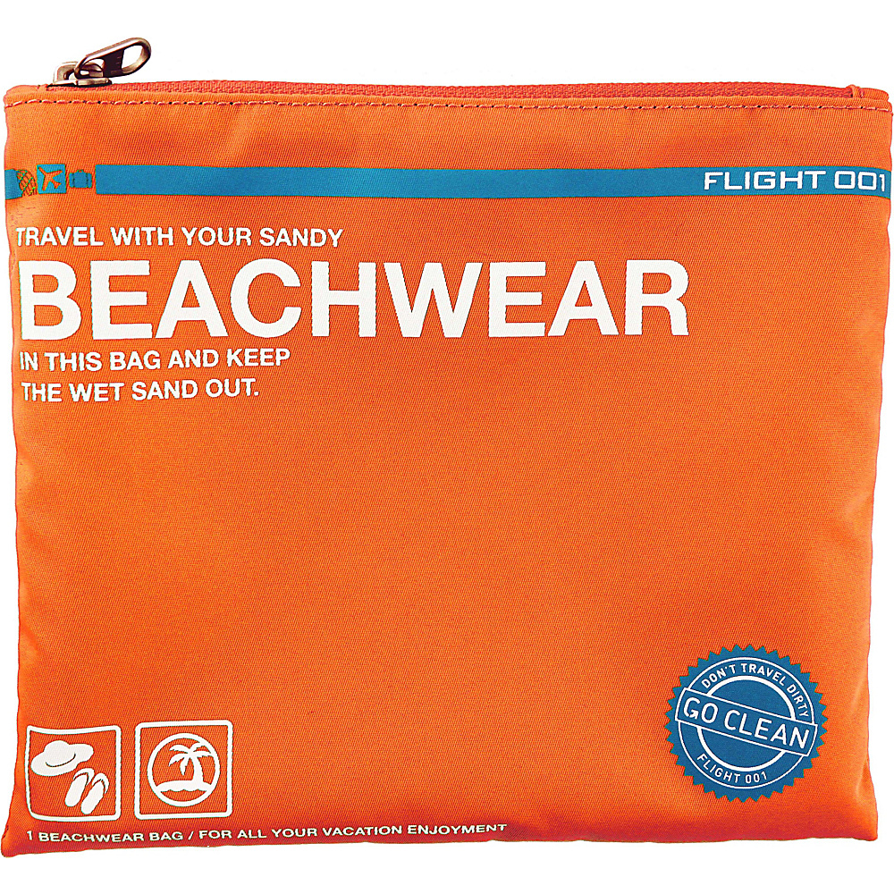 Flight 001 Go Clean Beach gear Orange - Flight 001 Lightweight packable expandable bags