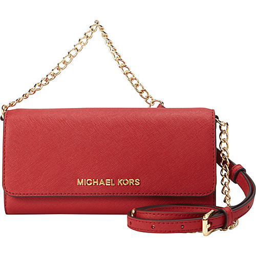 70be58fa0500 ... UPC 888235856568 product image for MICHAEL Michael Kors Jet Set Travel  Wallet on a Chain Red