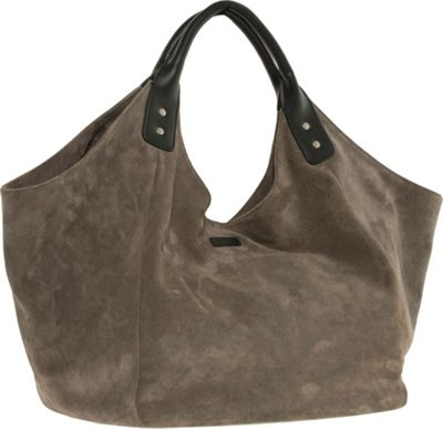 Ellington Handbags Natalie Shoulder Bag Grey - Ellington Handbags Leather Handbags