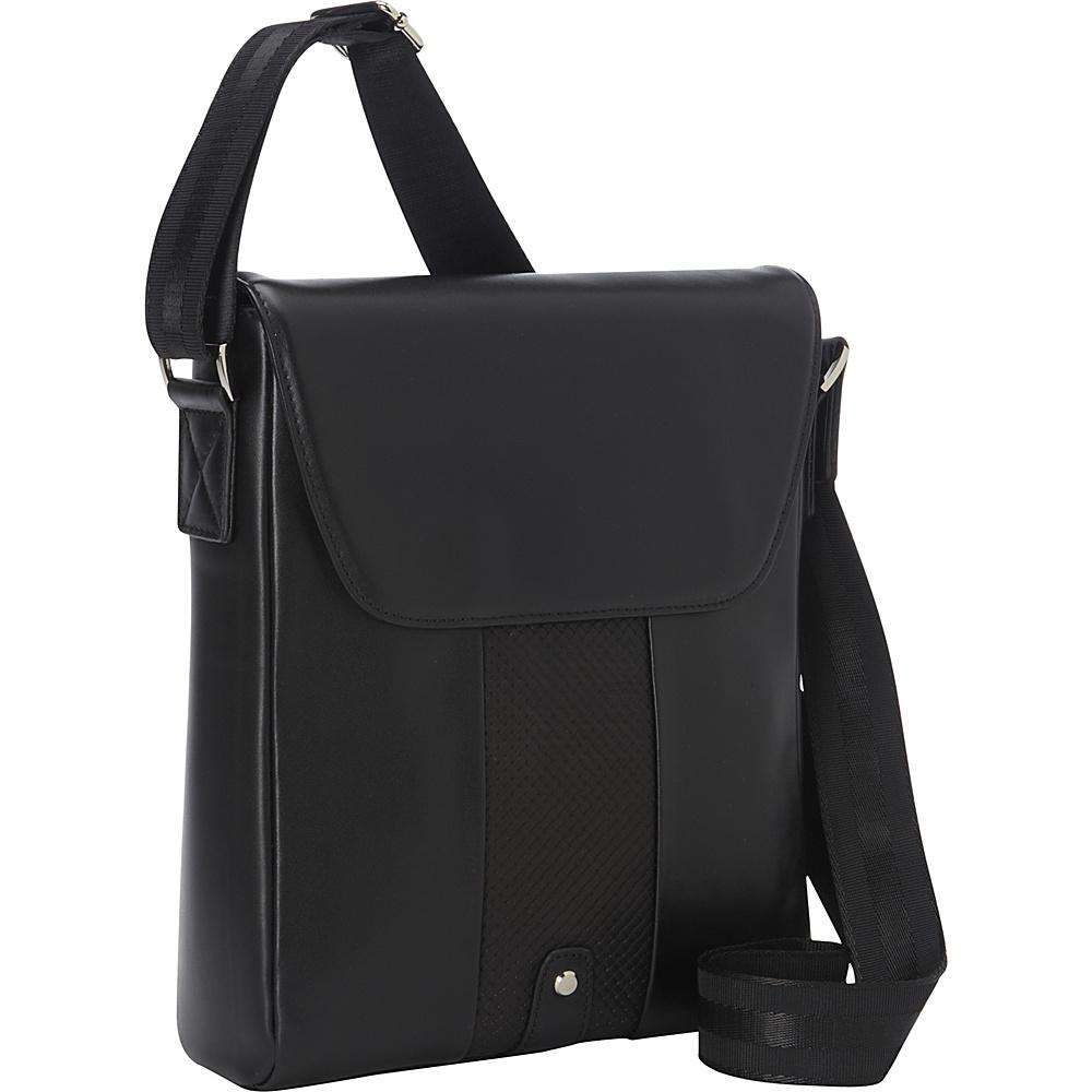 Bellino Tablet Sling Black - Bellino Messenger Bags