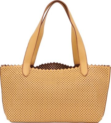 BUCO Small Diamond Shoulder Bag Dijon/Brown - BUCO Manmade Handbags