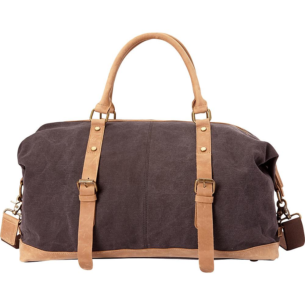 Vagabond Traveler Classic Canvas Medium Duffle Bag- eBags Exclusive Grey - Vagabond Traveler Rolling Duffels - Luggage, Rolling Duffels