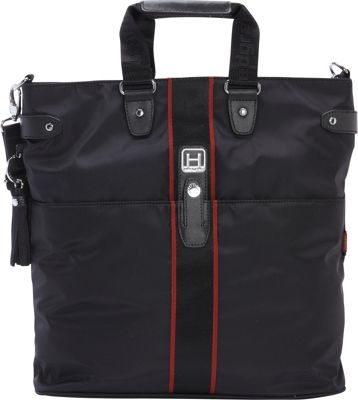 Hedgren Kaci Shoulder Bag Black - Hedgren Fabric Handbags