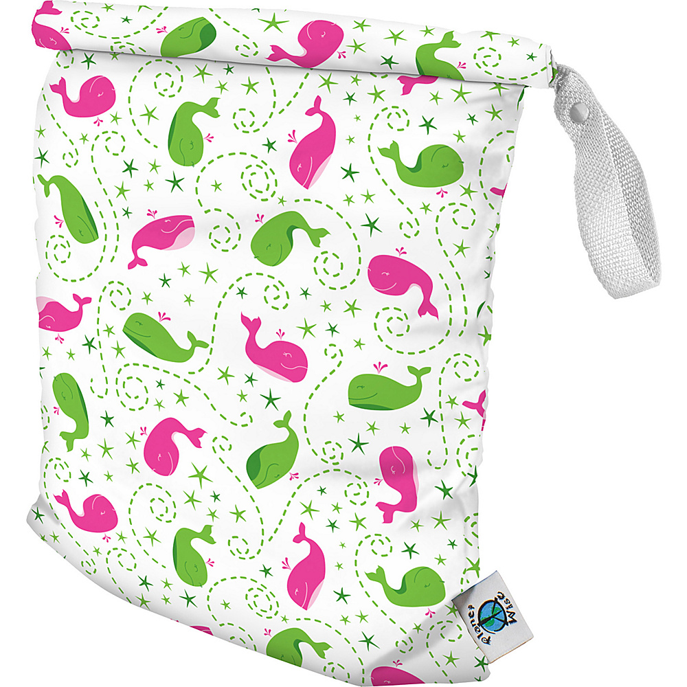 Planet Wise Medium Roll Down Wet Bag Wilma the Whale Planet Wise Diaper Bags Accessories