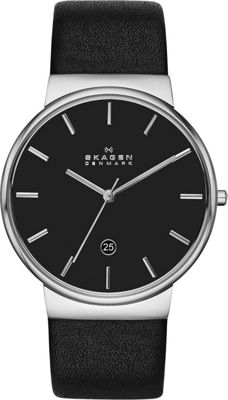Skagen Ancher Watch Black with Black - Skagen Watches