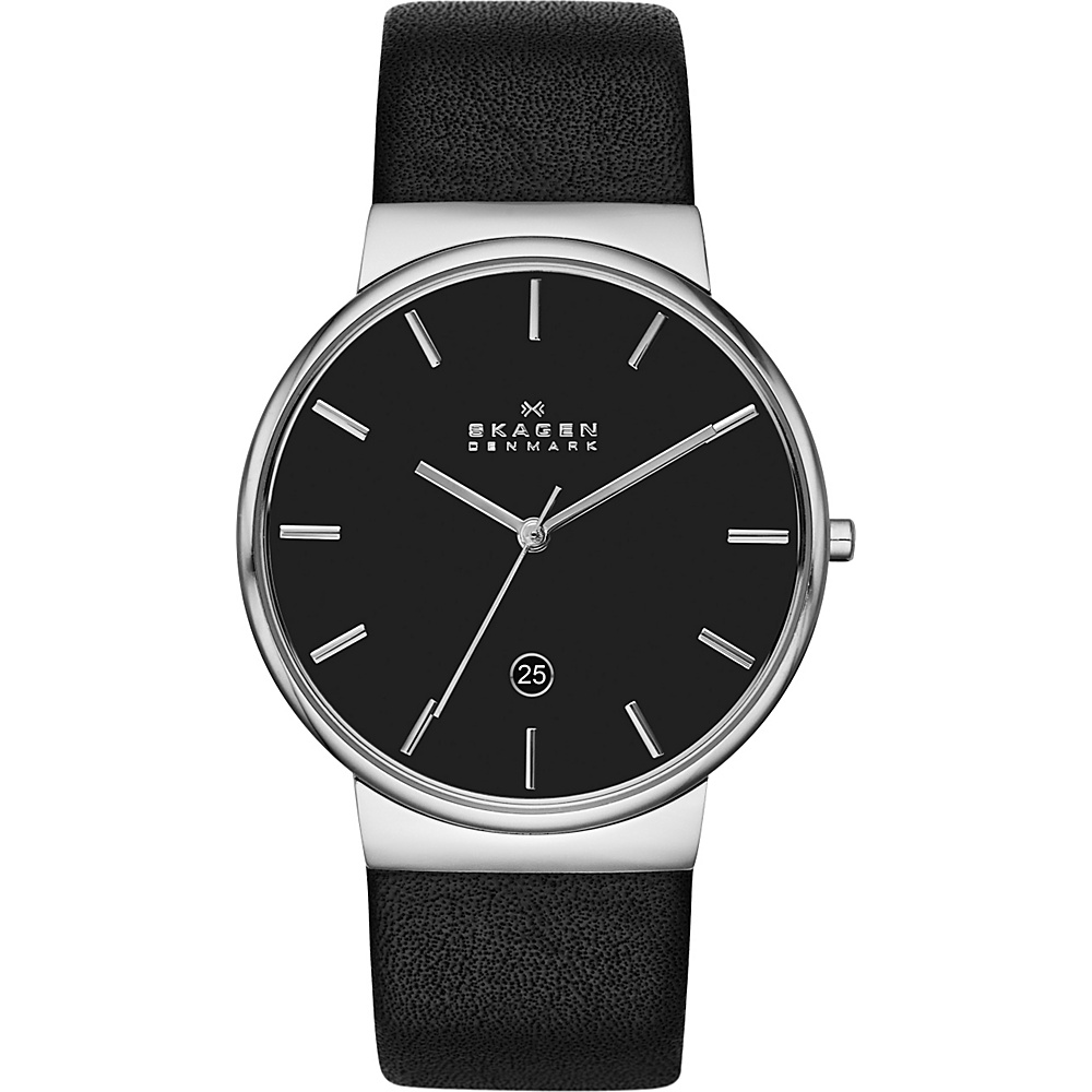 Skagen Ancher Watch Black with Black Skagen Watches
