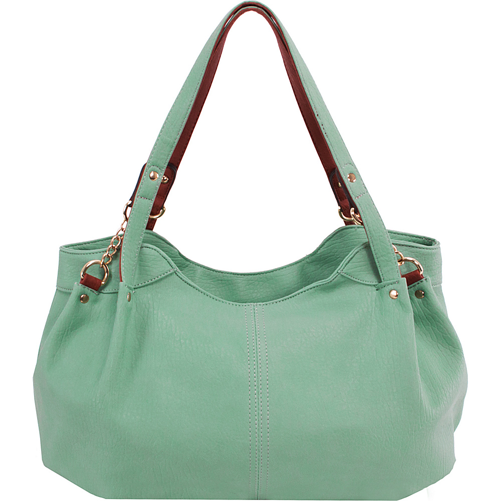 Parinda Arianna Shoulder Bag Green - Parinda Manmade Handbags