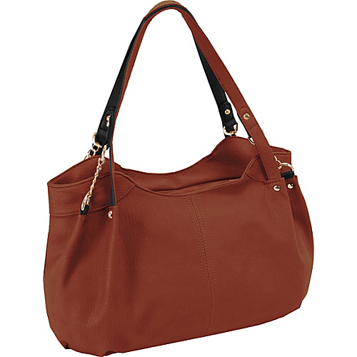 Parinda Arianna Shoulder Bag Brown - Parinda Manmade Handbags