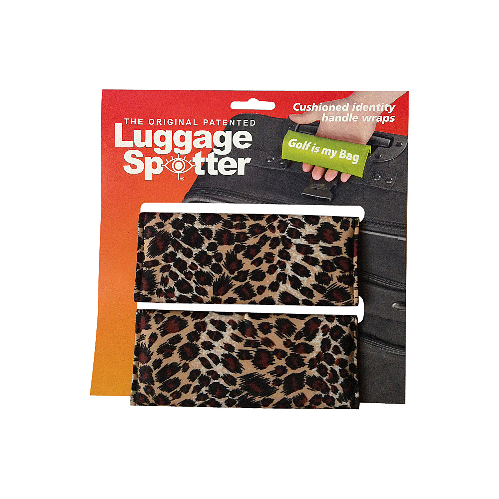 Luggage Spotters Designer Cheetah Luggage Spotter Cheetah Luggage Spotters Luggage Accessories