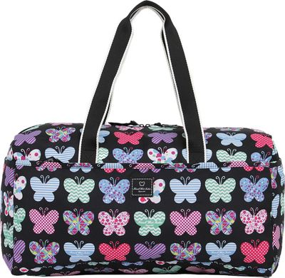 French West Indies 21 inch Soft Duffel Papillon - French West Indies Rolling Duffels