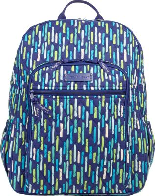 Vera Bradley Campus Backpack Katalina Showers - Vera Bradley School & Day Hiking Backpacks