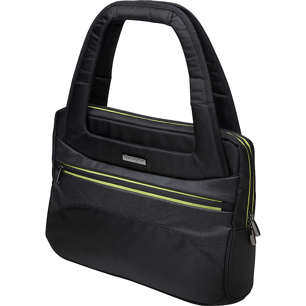 Kensington Triple Trek Ladies Tote for 13 to 14-Inch Ultra books Black - Kensington Non-Wheeled Business Cases