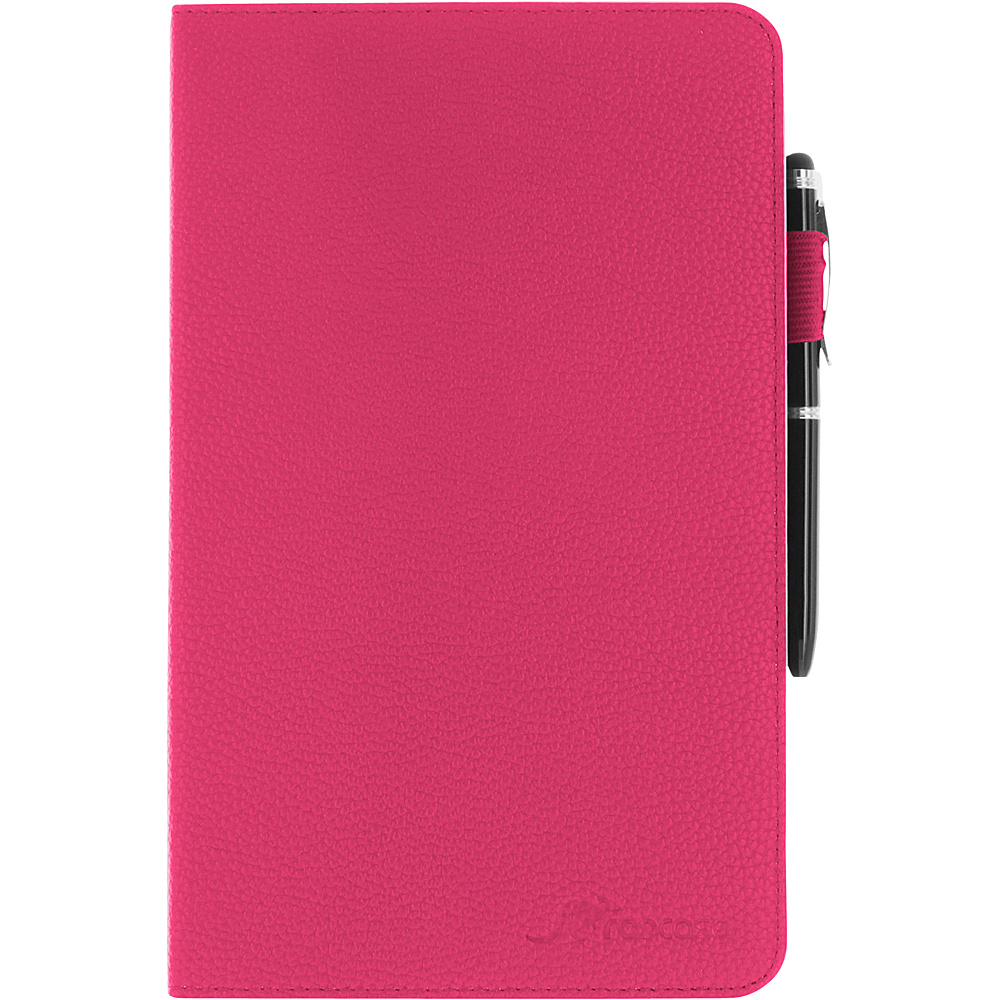 rooCASE Dual View Folio Case Cover with Stylus for Samsung Galaxy Tab S 8.4 SM T700 Magenta rooCASE Electronic Cases