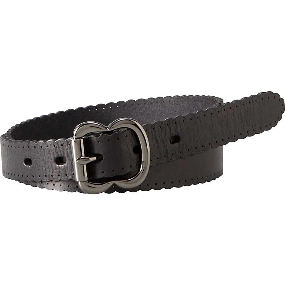 Fossil Scallop Jean Belt S - Black - Fossil Other Fashion Accessories - Fashion Accessories, Other Fashion Accessories