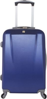 SwissGear Travel Gear 19 inch Spinner ABS Blue - SwissGear Travel Gear Hardside Carry-On