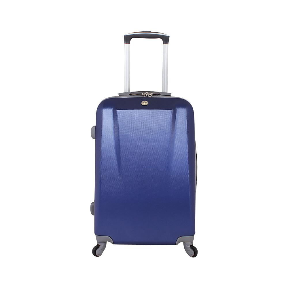 SwissGear Travel Gear 19 Spinner ABS Blue SwissGear Travel Gear Hardside Carry On