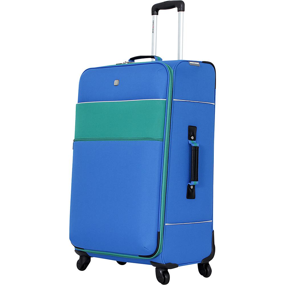"""SwissGear Travel Gear 28"""" 4 Wheeled Spinner Green - SwissGear Travel Gear Softside Checked"""
