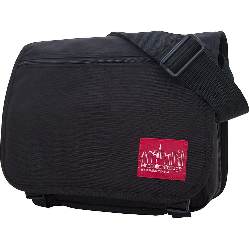 Manhattan Portage Small Europa Messenger Black - Manhattan Portage Messenger Bags - Work Bags & Briefcases, Messenger Bags