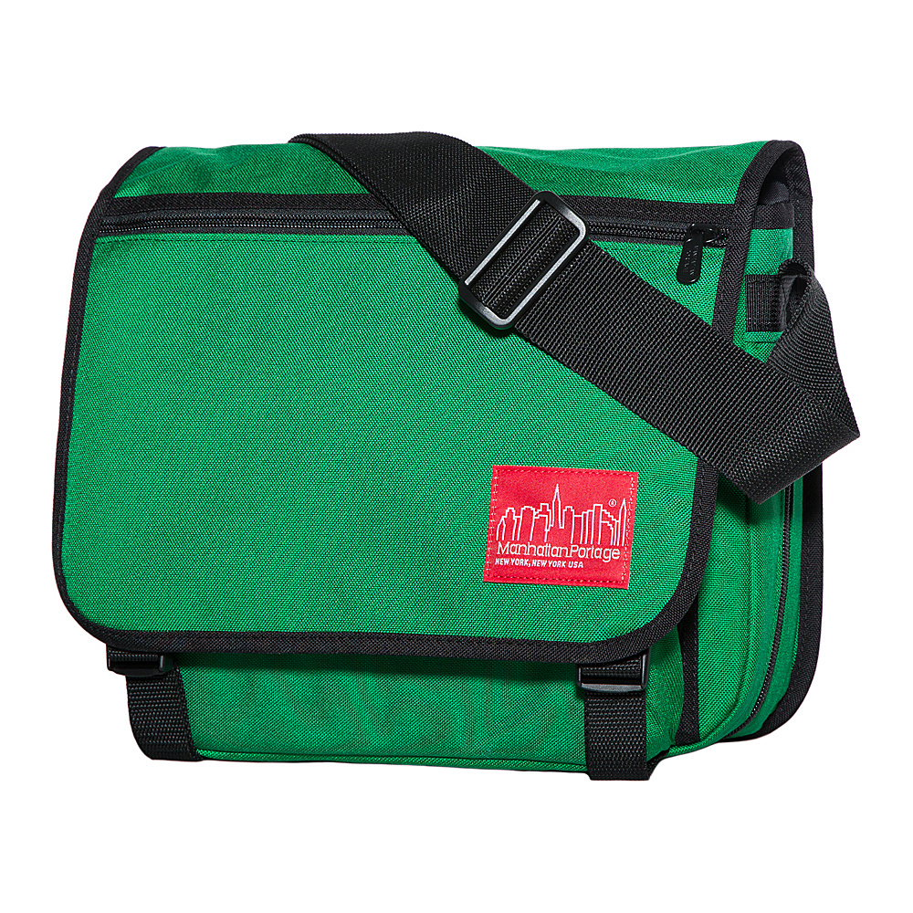 Manhattan Portage Small Europa Messenger Green - Manhattan Portage Messenger Bags - Work Bags & Briefcases, Messenger Bags