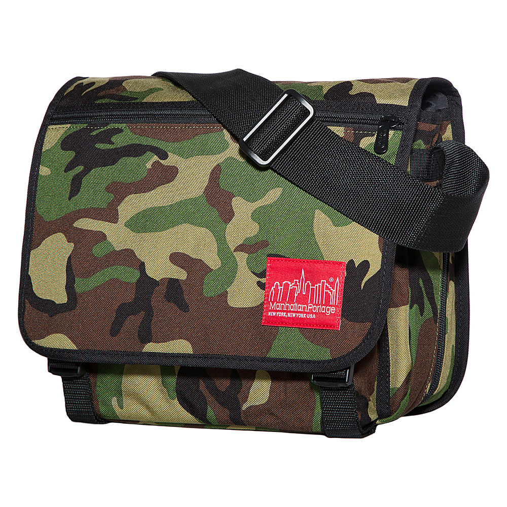 Manhattan Portage Small Europa Messenger Camouflage - Manhattan Portage Messenger Bags - Work Bags & Briefcases, Messenger Bags