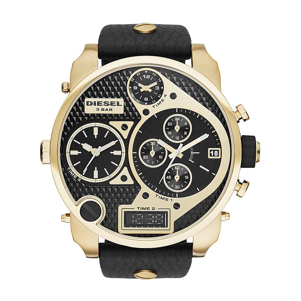 Diesel Watches Mr. Daddy Leather Black/Black - Diesel Watches Watches