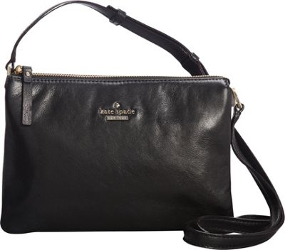 kate spade new york Ivy Place Gabriella Crossbody Bag Black - kate spade new york Designer Handbags
