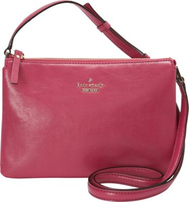 kate spade new york Ivy Place Gabriella Crossbody Bag Berry Tartlet - kate spade new york Designer Handbags
