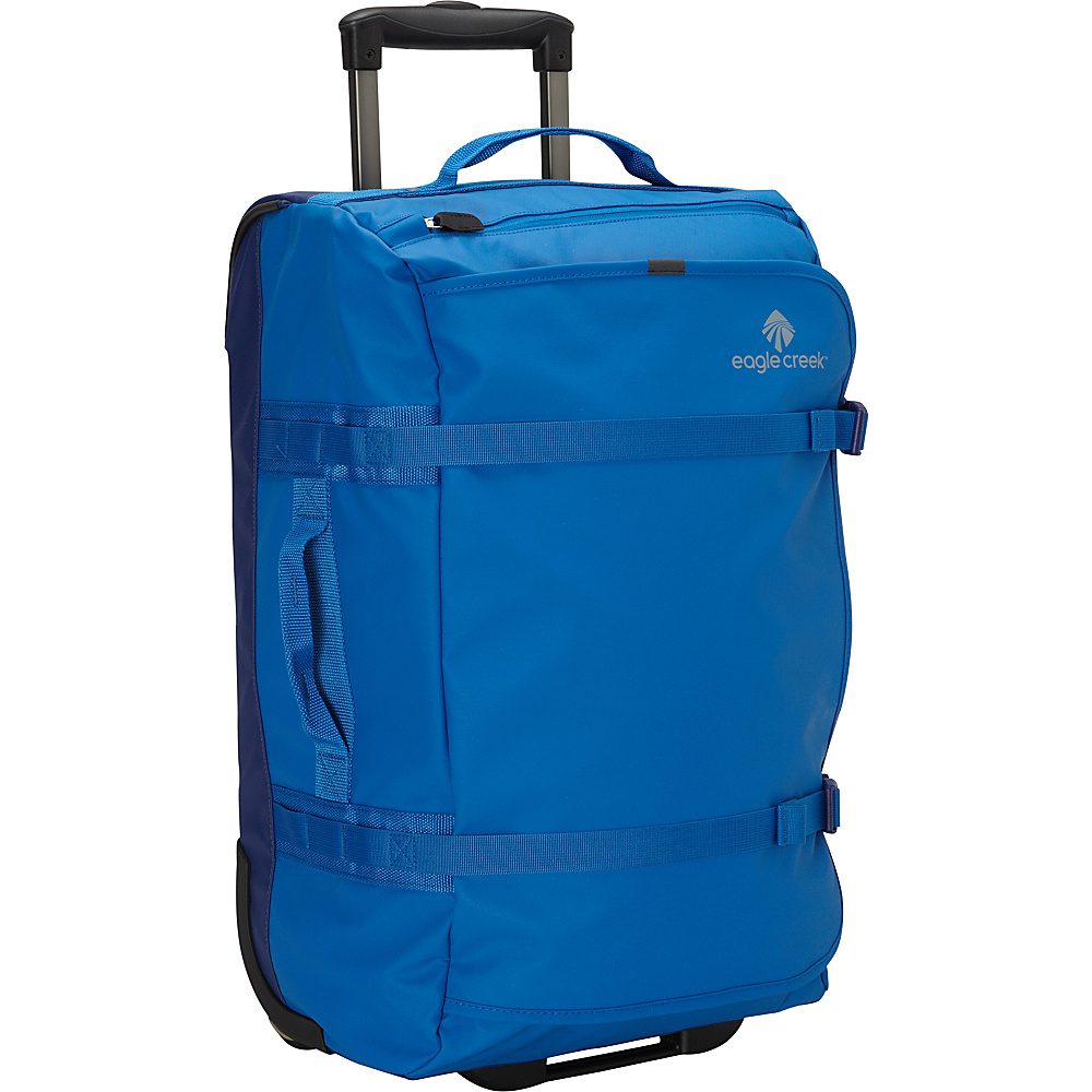 Eagle Creek No Matter What Flatbed Duffel 22 Cobalt - Eagle Creek Rolling Duffels - Luggage, Rolling Duffels