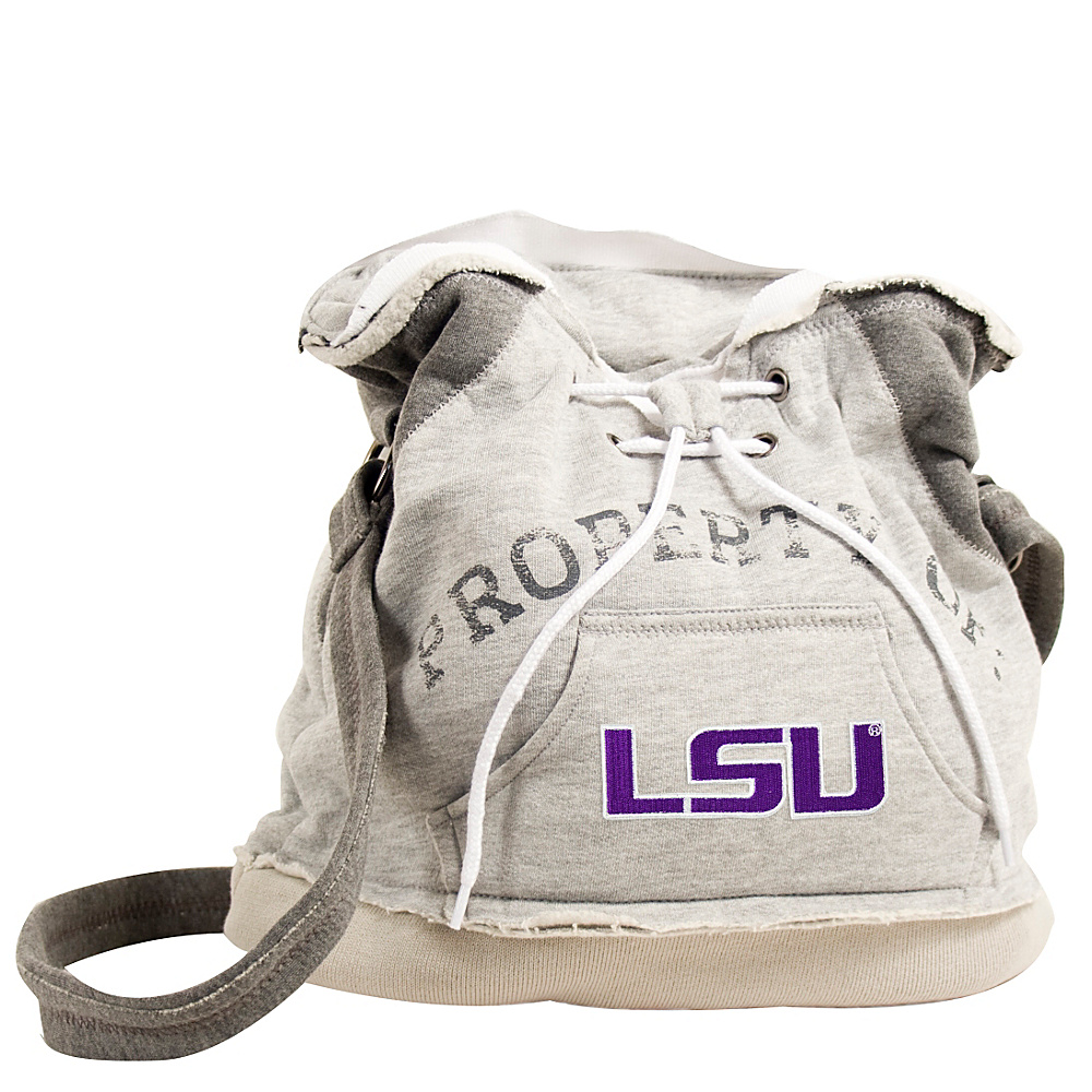 Littlearth Hoodie Shoulder Bag SEC Teams Louisiana State University Littlearth Fabric Handbags