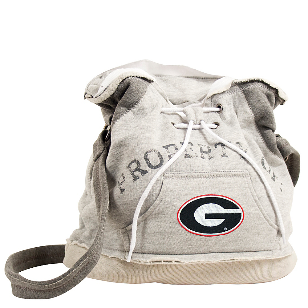 Littlearth Hoodie Shoulder Bag SEC Teams Georgia U of Littlearth Fabric Handbags