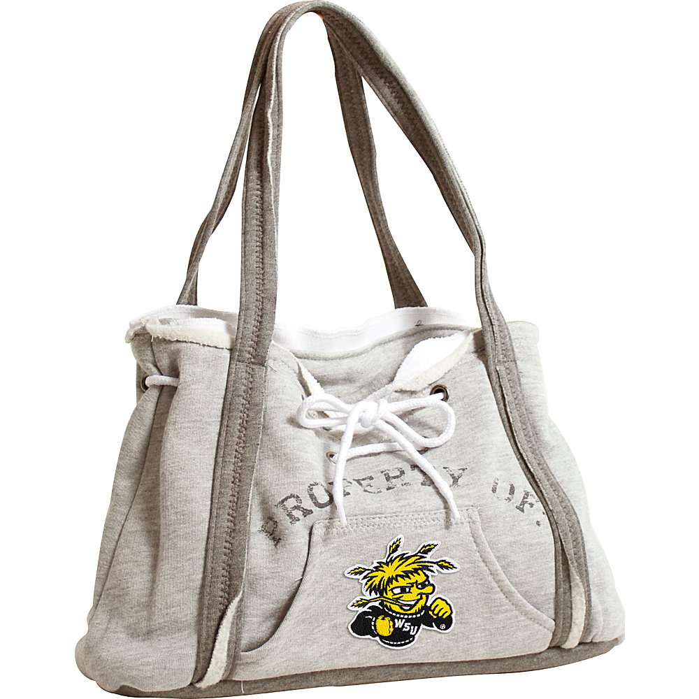 Littlearth Hoodie Purse - College Teams Wichita State University - Littlearth Fabric Handbags - Handbags, Fabric Handbags