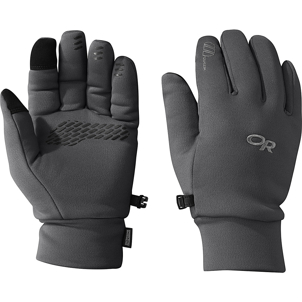 Outdoor Research PL 400 Sensor Gloves Mens M - Charcoal Heather – LG - Outdoor Research Hats/Gloves/Scarves - Fashion Accessories, Hats/Gloves/Scarves
