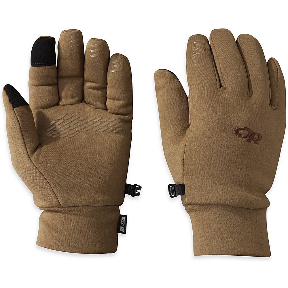 Outdoor Research PL 400 Sensor Gloves Mens S - Coyote - Outdoor Research Hats/Gloves/Scarves - Fashion Accessories, Hats/Gloves/Scarves
