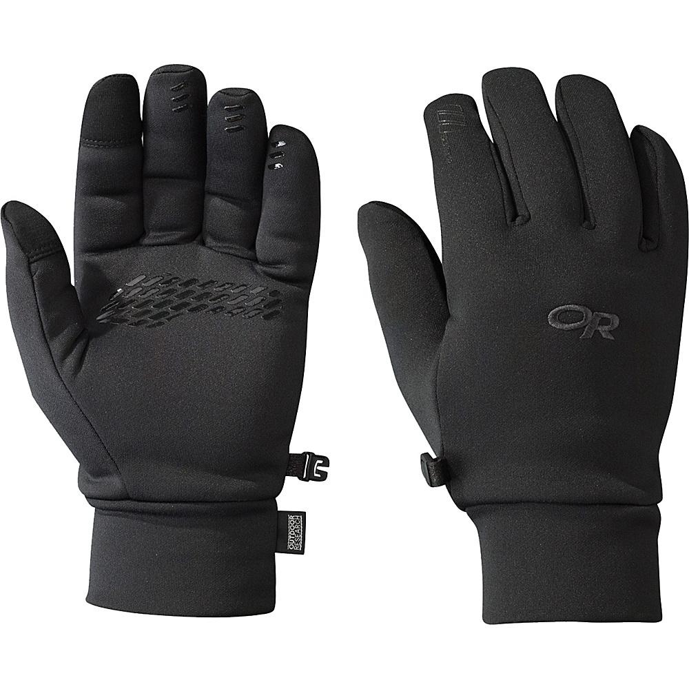 Outdoor Research PL 400 Sensor Gloves Mens L - Black - Outdoor Research Hats/Gloves/Scarves - Fashion Accessories, Hats/Gloves/Scarves