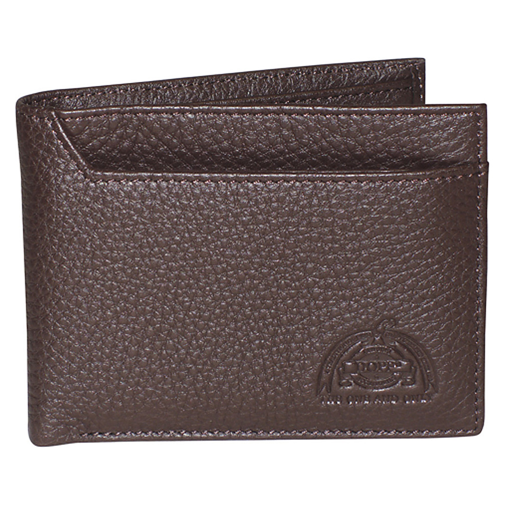 Dopp SoHo RFID I.D. Thinfold Dark Brown Dopp Men s Wallets