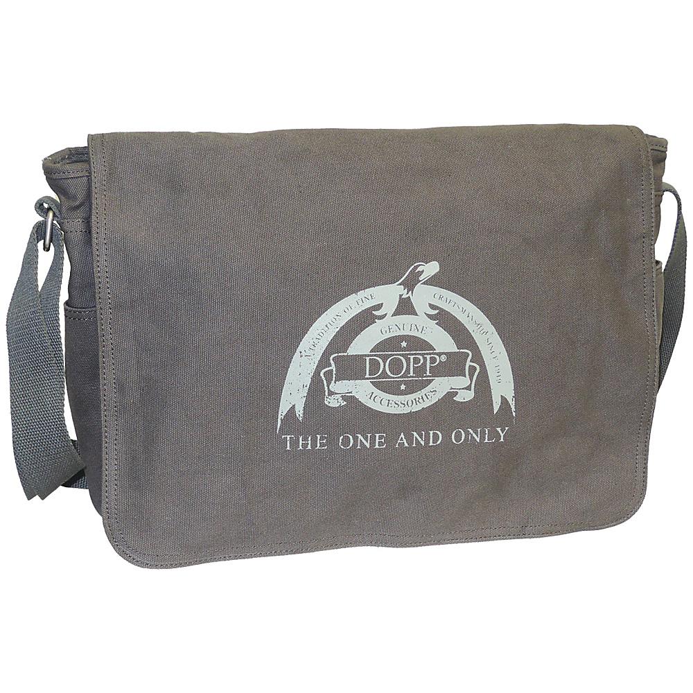 Dopp Legacy Messenger Grey Dopp Messenger Bags