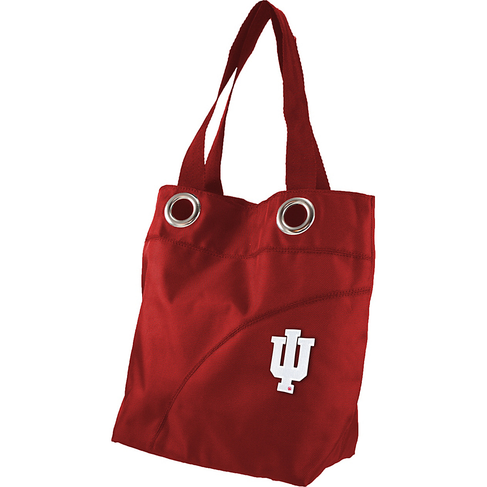 Littlearth Color Sheen Tote - Big Ten Teams Indiana University - Littlearth Fabric Handbags - Handbags, Fabric Handbags