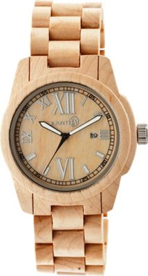 Earth Wood Heartwood Watch Khaki/Tan - Earth Wood Watches