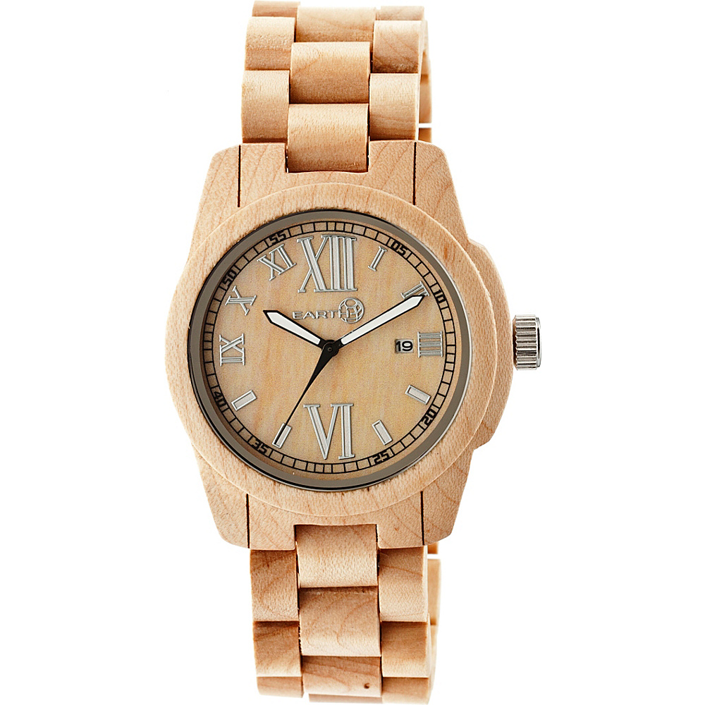 Earth Wood Heartwood Watch Khaki Tan Earth Wood Watches
