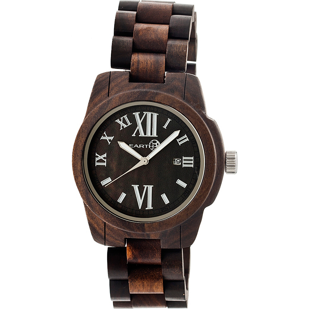 Earth Wood Heartwood Watch Espresso Earth Wood Watches