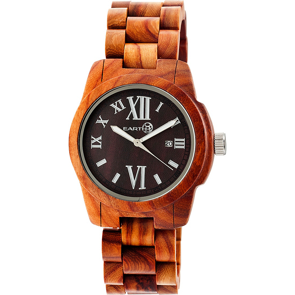 Earth Wood Heartwood Watch Red Rosewood Earth Wood Watches