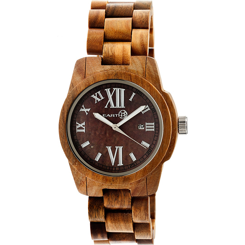 Earth Wood Heartwood Watch Olive Earth Wood Watches
