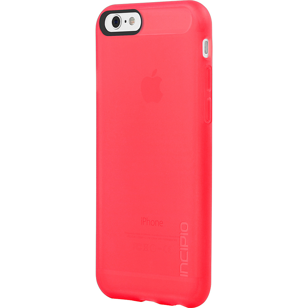 Incipio NGP iPhone 6 6s Case Translucent Neon Red Incipio Electronic Cases
