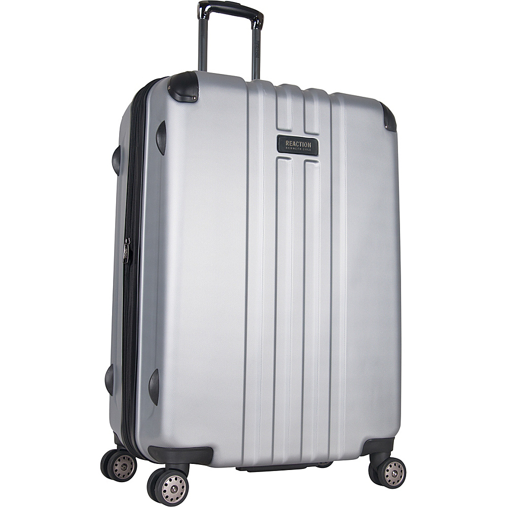 Kenneth Cole Reaction Reverb 29 Expandable Hardside Spinner Silver Kenneth Cole Reaction Hardside Checked