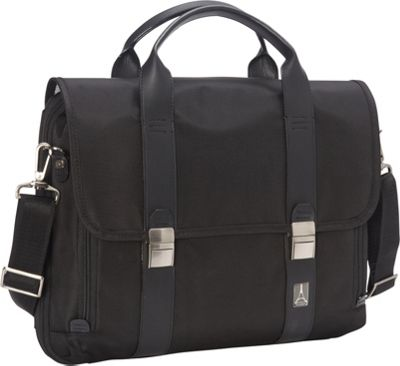 Travelpro Crew Executive Choice Checkpoint Friendly Messenger Laptop Case Black - Travelpro Non-Wheeled Business Cases