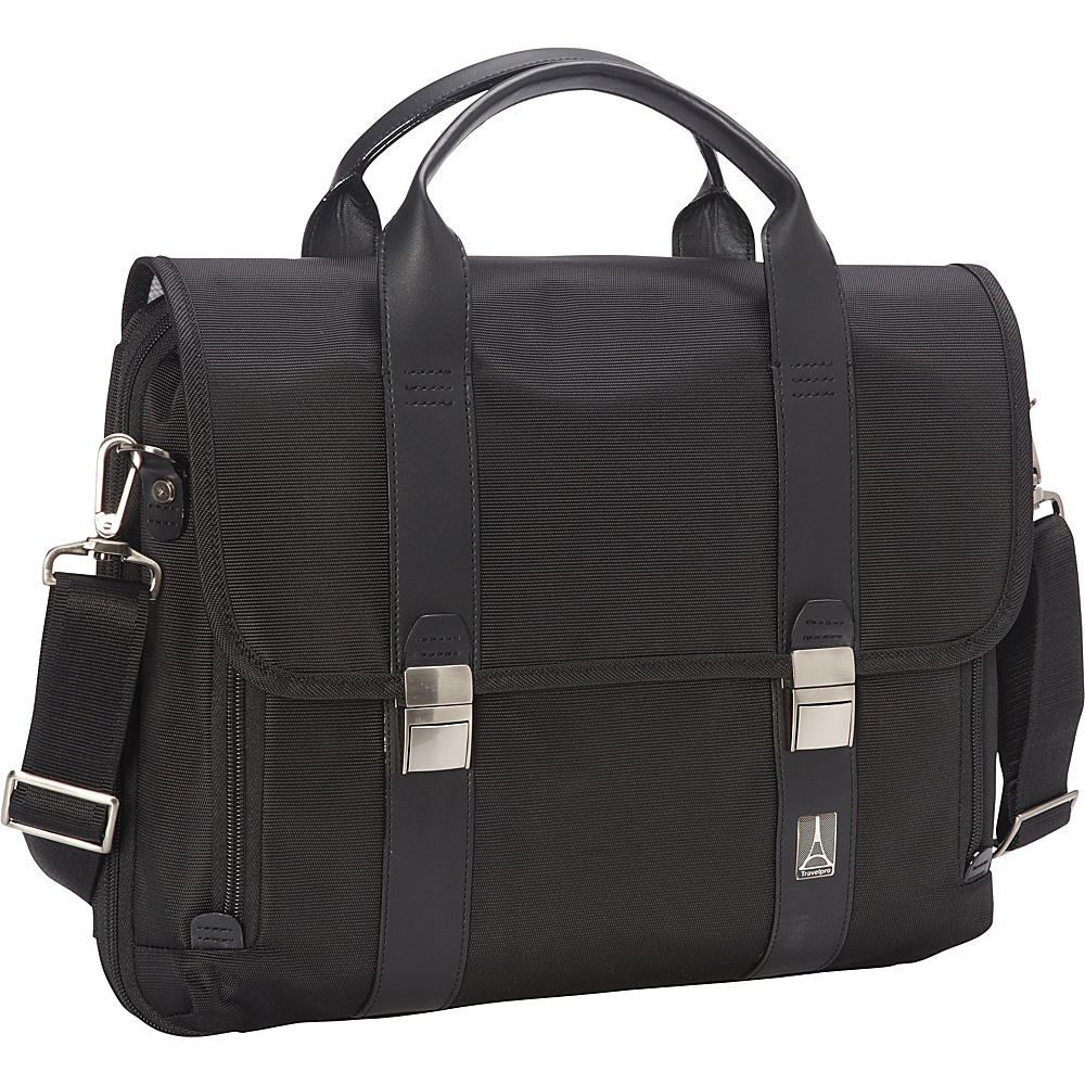 Travelpro Crew Executive Choice Checkpoint Friendly Messenger Laptop Case Black Travelpro Non Wheeled Business Cases