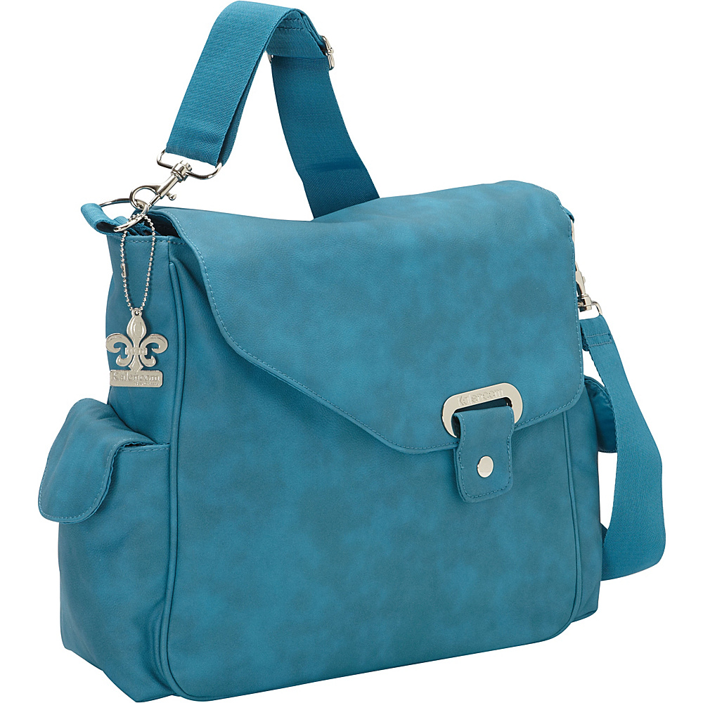 kalencom vegan diaper messenger bag 5 colors diaper bags accessorie new ebay. Black Bedroom Furniture Sets. Home Design Ideas
